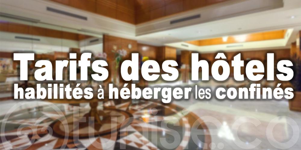 Découvrez les tarifs des hôtels habilités à héberger les confinés