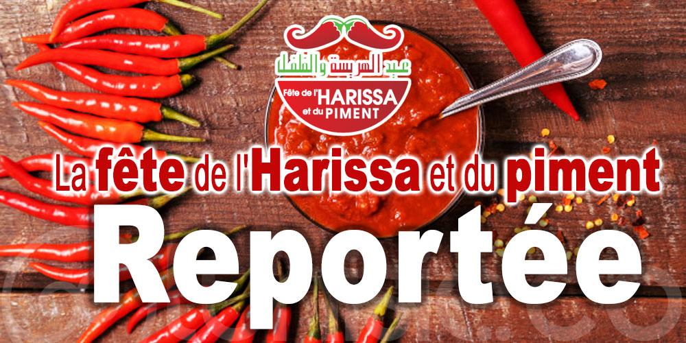 Prévue début octobre, la fête de l'Harissa et du piment est reportée