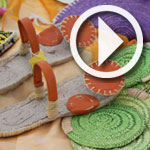 Artisanat de Gabès en paille de palmier : vivent les couleurs !
