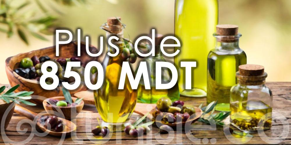 Les exportations tunisiennes d'huile d'olive rapportent plus de 850 MDT aux caisses de l'Etat