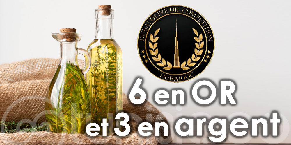 9 médailles pour la Tunisie au concours d'huile d'olive ''Dubaiooc 2021''