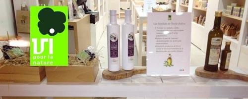 Dégustation de huiles d'olive BIO chez Vi Pour la Nature samedi 16 février