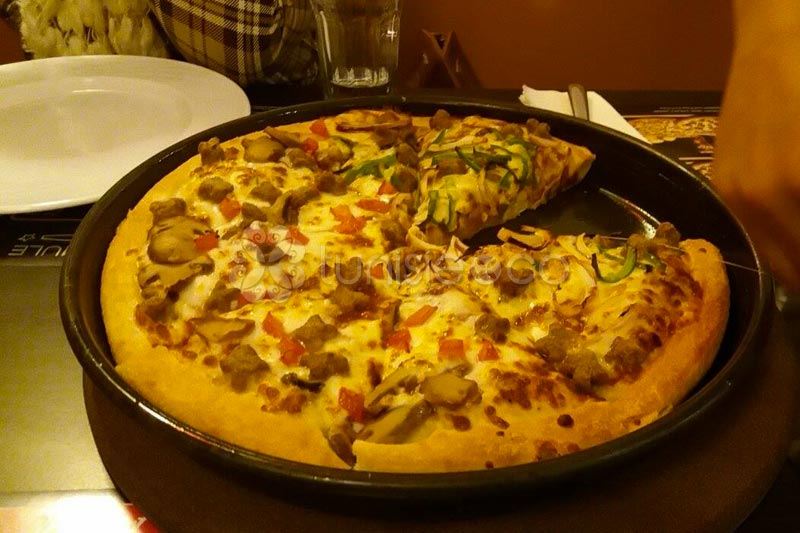 Re-ouverture du Pizza Hut El Manar