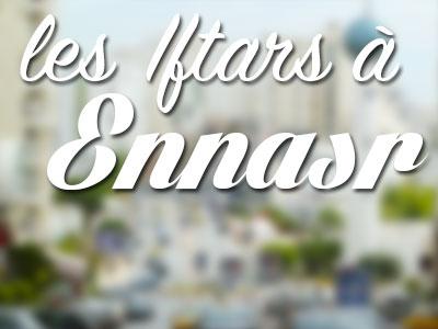 Liste des Iftars à Ennasr et El Menzah