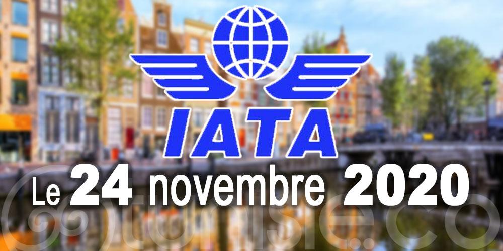 La 76e de l'Assemblée générale annuelle de l'IATA aura lieu en novembre