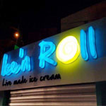 Ice´n Roll, le �??Live made ice cream´ ouvre enfin ses portes à El Menzah 5