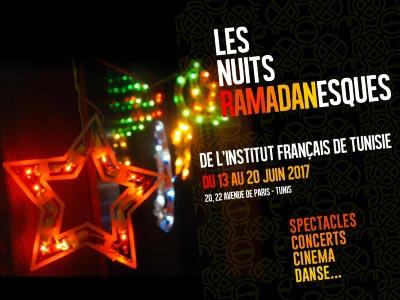 Voyagez avec les nuits ramadanesques 2017 de l'Institut français de Tunisie