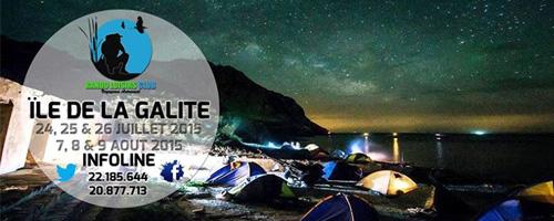 Camping des étoiles à l'île de la Galite du 24 au 26 juillet 2015