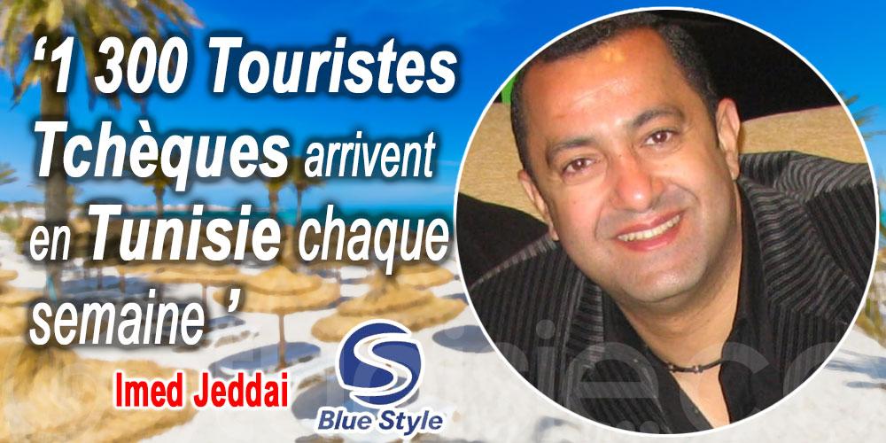 Imed Jeddai : 1 300 Touristes Tchèques arrivent en Tunisie chaque semaine