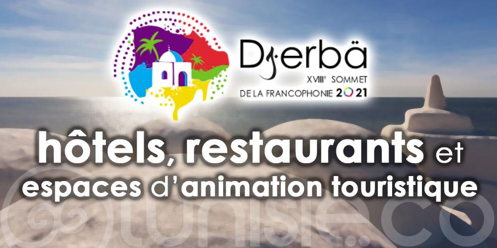 Sommet de la Francophonie à Djerba : Inspection de plusieurs établissements touristiques