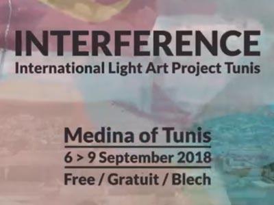 En vidéo : La deuxième édition du Projet International d'Art de Lumière INTERFERENCE