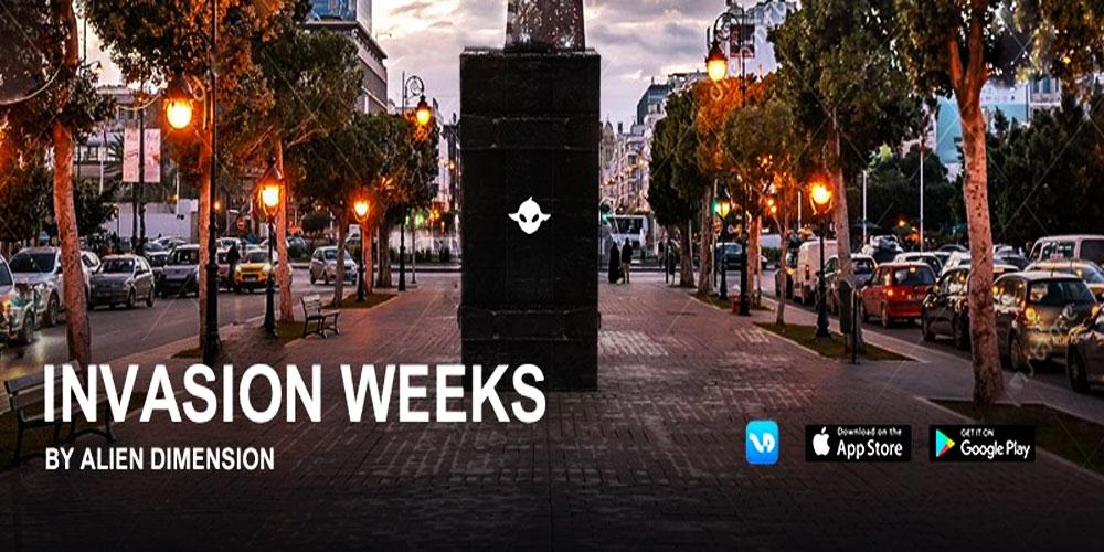 INVASION WEEKS, mais qui est derrière le phénomène de l'invasion des aliens dans les entrailles de Tunis ?