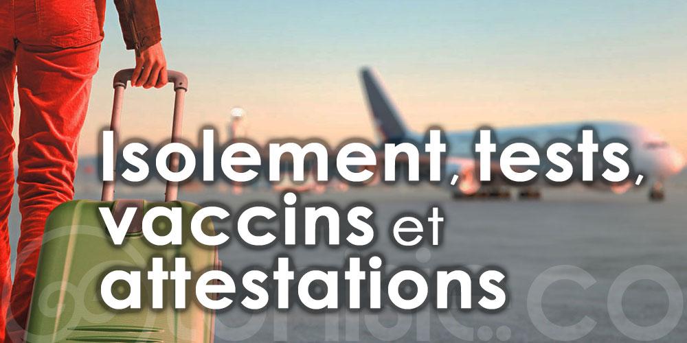 Un vacciné Covid doit-il faire un test PCR pour se rendre en Tunisie?