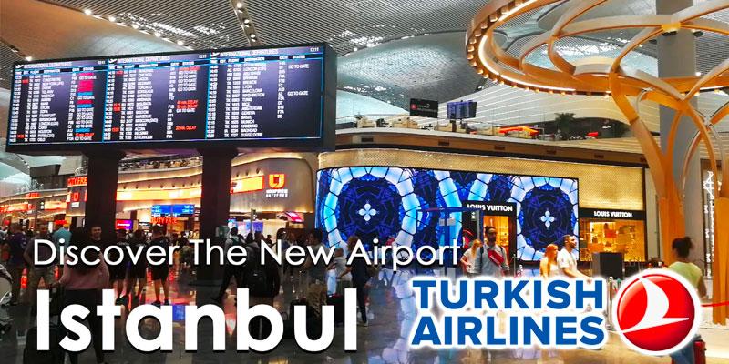 En vidéos : Découvrez le nouvel aéroport Istanbul et le Lounge Turkish Airlines