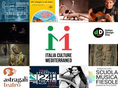 Découvrez la programmation détaillée du projet « Italia,Culture, Mediterraneo 2018 »
