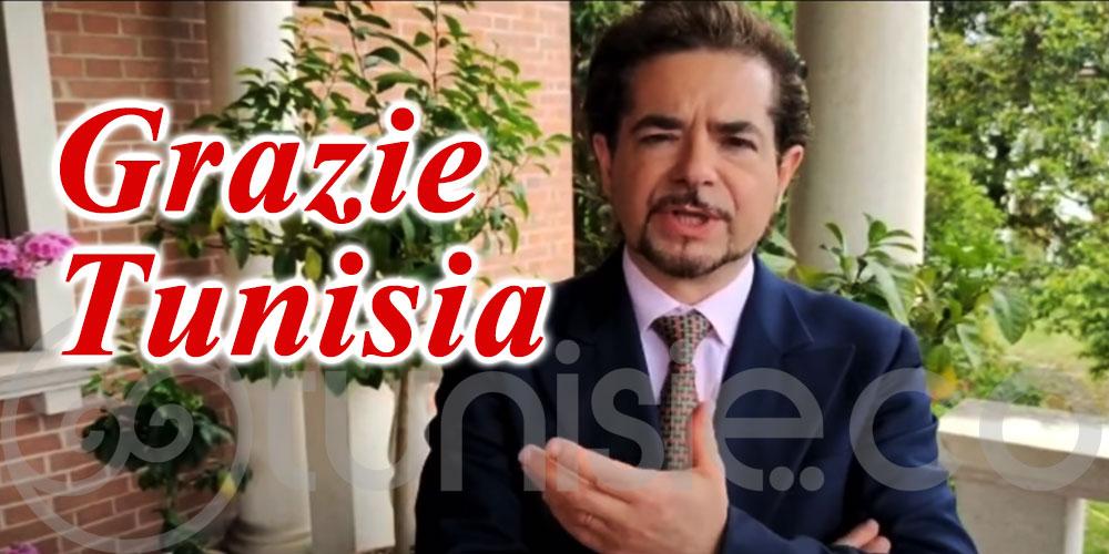 En vidéo : Quand Cristian Ricci chante la Tunisie
