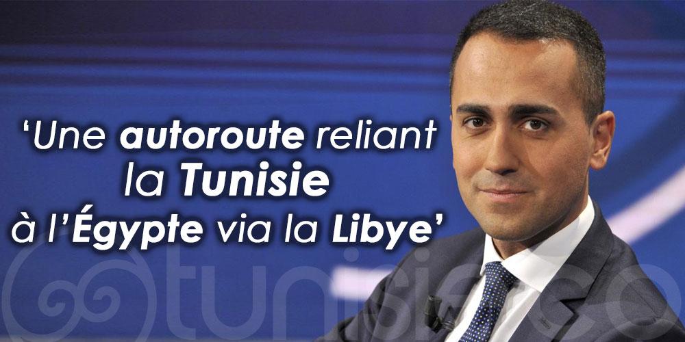 Di Maio: Bientôt, une autoroute reliant la Tunisie à l'Égypte via la Libye