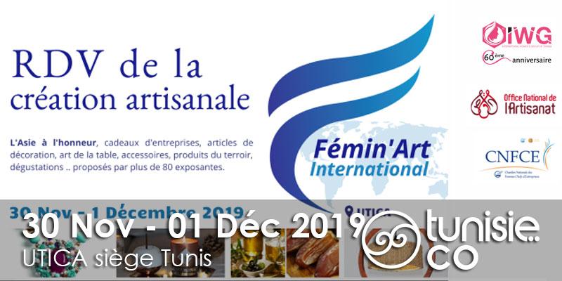 IWG - CNFCE: Le Rendez-vous de la Création Artisanale du 30 Novembre au 1er Décembre