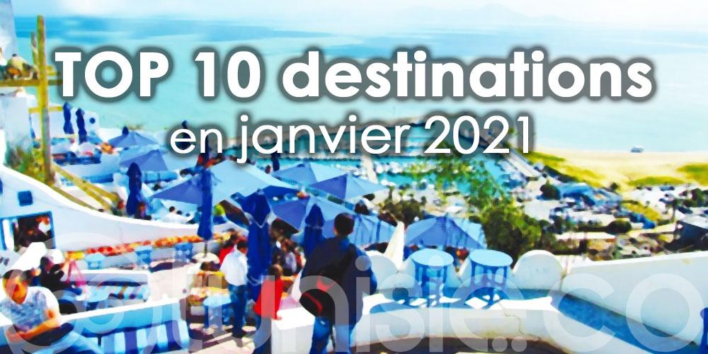 La Tunisie, parmi les 10 destinations les plus prisées en Janvier 2021