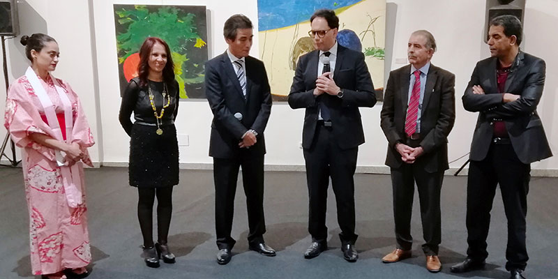 En photos : Vernissage de l'exposition japonaise itinérante 'Winter Garden' au Musée des Arts Contemporains