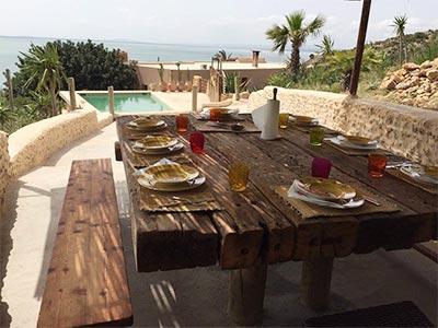 Les Jardins de la Mer Ghar El Melh, une maison d'hôtes entre mer et montagne