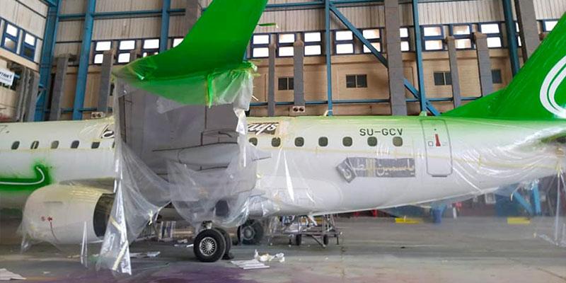 En photos : La nouvelle compagnie Jasmin Airways prépare son démarrage