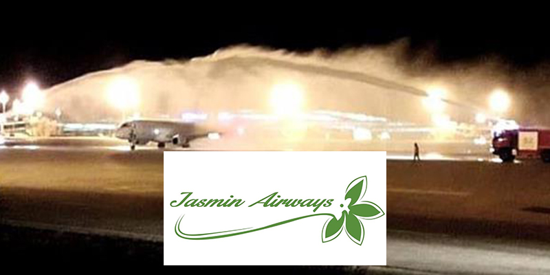 Jasmin Airways accueille son 2ème avion Narcisse