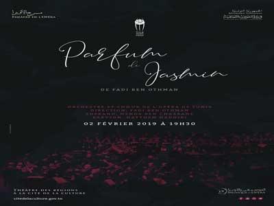 Spectacle « Parfum Jasmin » de Fadi Ben Othman le Samedi 02 février 2019 au Théâtre des Régions à 19h30