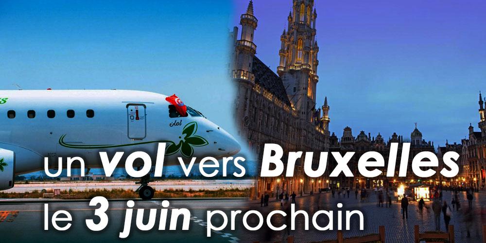 Jasmin Airways assure un vol vers Bruxelles le 3 juin prochain