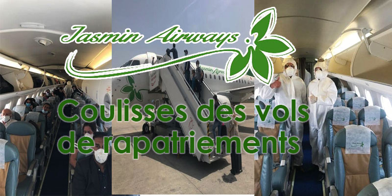 Coulisses des vols de rapatriements par Jasmin Airways
