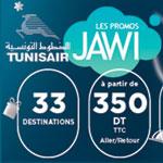TUNISAIR propose 16 pays à partir de 350 Dt TTC pour sa promo Hiver