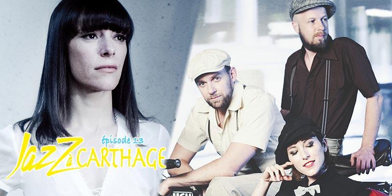 Concert de ''Marina and The Kats'' et ''Emily Loizeau'' le 7 avril au festival Jazz à Carthage
