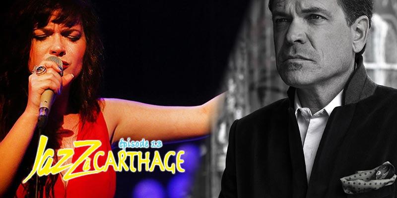 Concert de Elina Duni Solo et Kurt Elling le 9 avril au festival Jazz à Carthage
