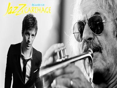 Concert de ''Enrico Rava - Makiko Hirabayashi'' et ''Charles Pasi'' le 12 avril au festival Jazz à Carthage