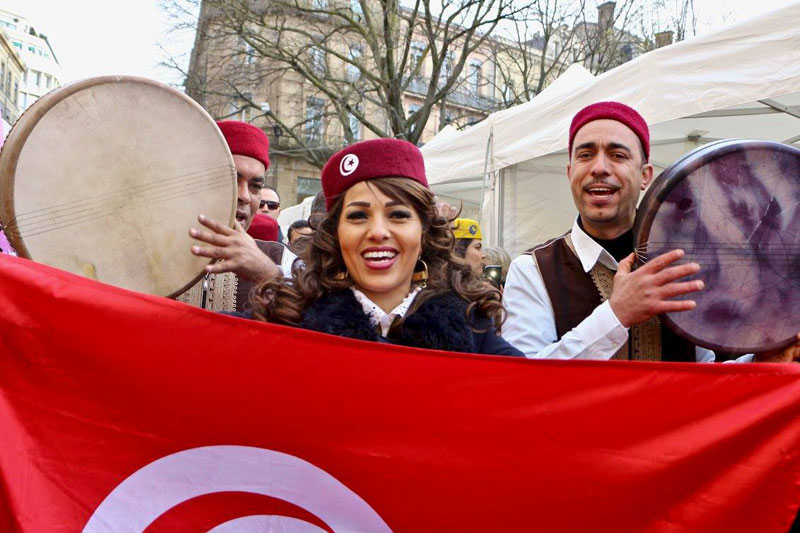 En 25 photos : Ambiance de la 3ème édition Des Journées Culturelles et Economiques Tunisiennes à Toulouse du 22 au 26 Mars