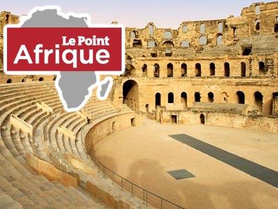 Quand le magazine Le Point Afrique fait la promotion du Colisée d'El Jem