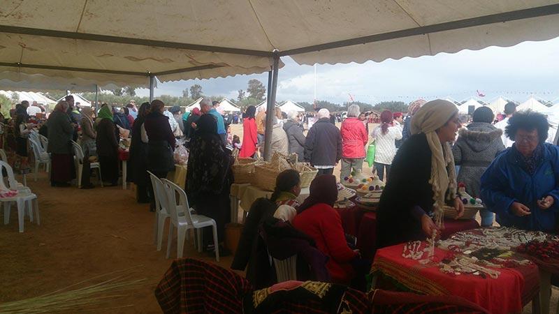 La ville de Jemmel animée par la fête de l'olivier