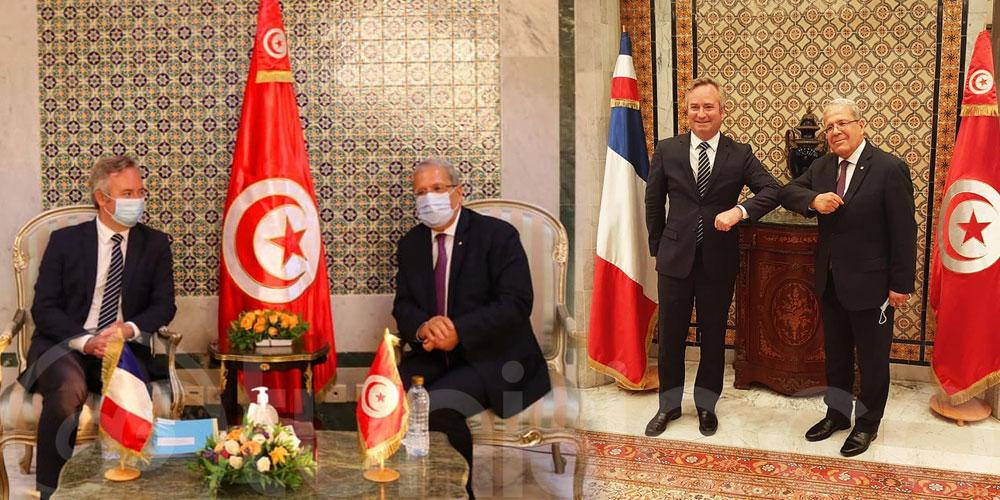 Le secrétaire d'Etat français chargé du Tourisme reçu par Othman Jerandi