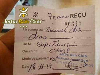 L'hôtel Jerba Sun revient sur l'affaire de la surfacturation du client tunisien et précise