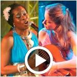 En vidéos : Concerts de  Ana Vidovic et Iyeoka