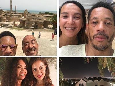 En photos : Quand Saif Mahdhbi fait découvrir à Joey Star et Hiba Abouk sa Tunisie