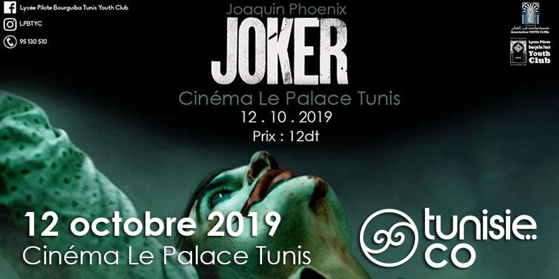 Projection du film Joker le 12 octobre