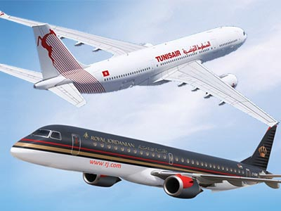 Tunisair et la Royal Jordanian signent un accord de Code Share