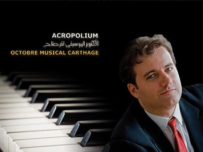 Jose de Solaun à l'Octobre Musical le 21 octobre à l'Acropolium de Carthage