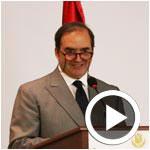 En vidéo : SEM l´ambassadeur du Mexique Juan González Mijares parle de la cuisine Mexicaine