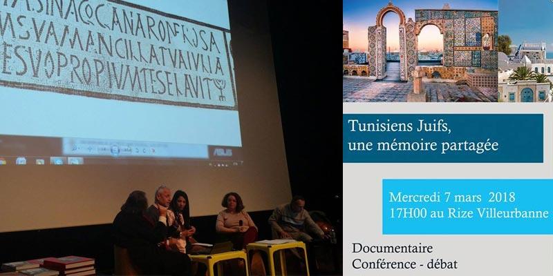 En photo : Retour sur la conférence débat 'Tunisiens juifs, une mémoire partagée' à Lyon