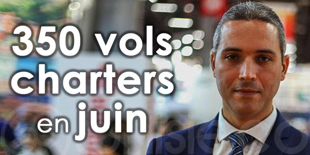 Belhassine: La Tunisie accueille plus de 350 vols charters pour le mois de juin
