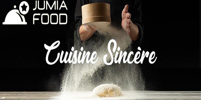 La cuisine sincère livrée par Jumia Food !