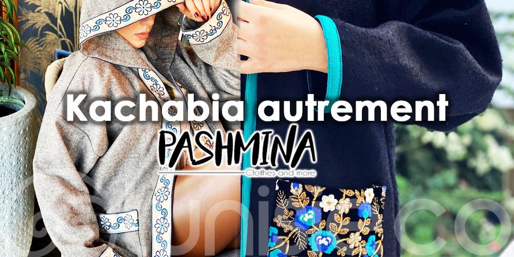 Pashmina où la mode au cœur de notre manteau typique 'La Kachabia'