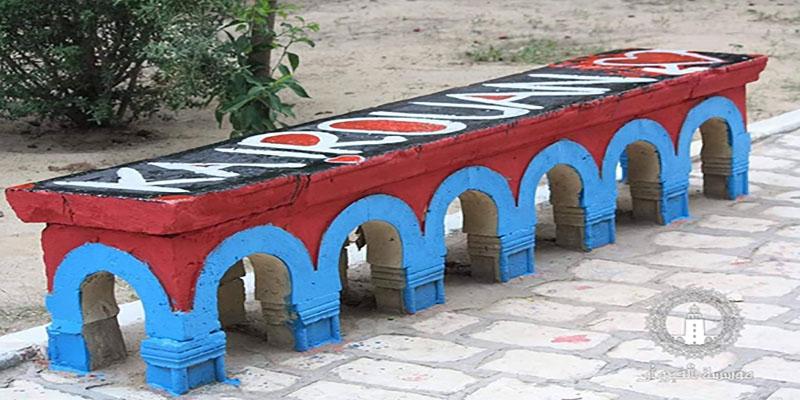 En photos : La ville de Kairouan prend des couleurs !